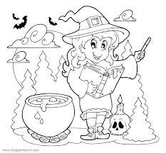 imagenes de halloween para imprimir y colorear dibujos de bruja para imprimir y colorear en halloween etapa infantil