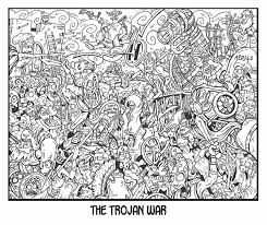 trojan war picture trojan war image