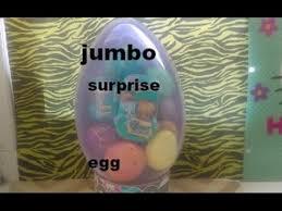 jumbo easter egg jumbo easter egg shopkins food fair season 3 basket and