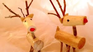 how to make lovely wooden reindeer ornaments diy home tutorial