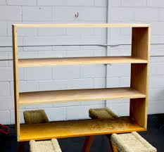 Wood Shelf Making by Upholstery Basics Leather Bookshelf U2013 Design Sponge