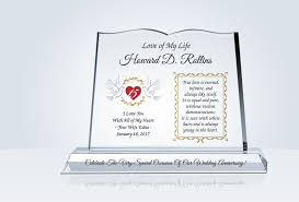 Best Gift For Wife 2017 Anniversary Gift For Husband Crystal Central