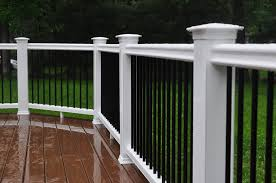 How To Build A Banister For Stairs Decks Com Deck Railing Height