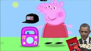 Peppa Pig Meme - peppa pig shares her favorite music hardcore version memes youtube