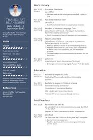 translator resume samples visualcv resume samples database resume