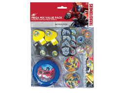 transformer party favors transformers party supplies sweet pea