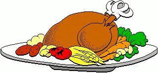 domain thanksgiving dinner clipart 71