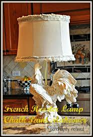 best 25 kitchen lamps ideas on pinterest kitchen dining tables chalk paint french rooster kitchen lamp makeover by serendipity refined