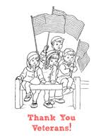 veterans day coloring pages printable veteran u0027s day bible printables