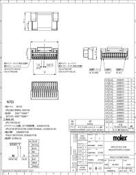 molex headers u0026 wire housings mouser