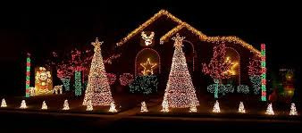 outside lighted decorations