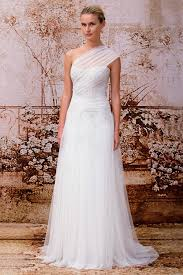one shoulder wedding dresses gowns for a goddess my hotel wedding