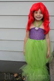 Green Tutu Halloween Costume Ariel Mermaid Halloween Costume