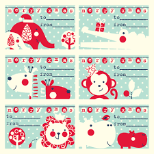 cool christmas gift tags u2013 festival collections