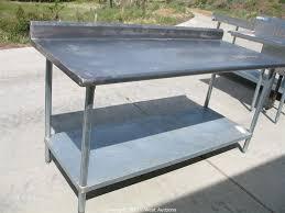 Stainless Steel Kitchen Furniture Amazoncom Gridmann Nsf Stainless Steel Commercial Kitchen Prep