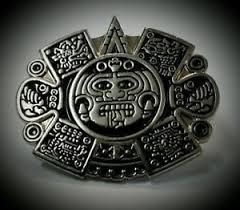 chicano mens lowrider hat fedora vintage aztec sun god silver button