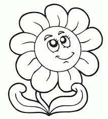 printable preschool coloring pages intended to encourage to color