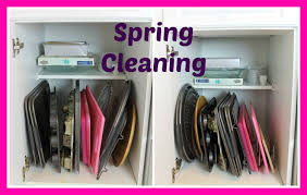 spring cleaning kitchen cabinets youtube