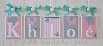 Nursery Wall Decor Letters Name Letters Nursery Wall Decor Wall Letters Baby Name