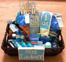 honeymoon gift wedding gift basket