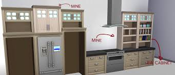 how to make a corner kitchen cabinet sims 4 colors of cabinets look completely different in sims