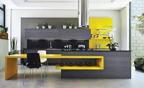 cuisine verte et marron cuisine jaune et gris cuisine jaune et vert bois marron gris
