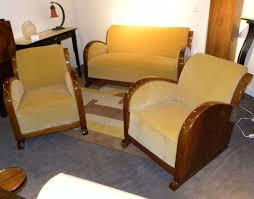 deco sofa original restored deco sofa suite settee with fabulous