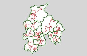 Lancashire England Map by Lancashire County Council Lgbce
