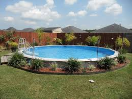 Backyard Above Ground Pool Ideas Above Ground Pool Designs Decks U2014 Home Landscapings How To Lay