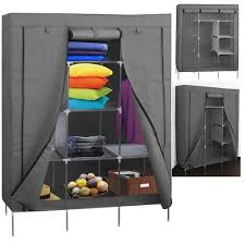 portable storage organizer wardrobe closet youtube