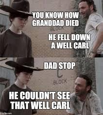 Rick Meme - rick and carl meme imgflip