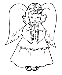 baby angel halo cloud coloring lilastar religious ed