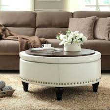 Simpli Home Avalon Storage Ottoman Franklin Storage Ottoman With 4 Trays Tags Storage Ottoman With