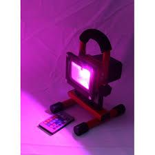 Color Changing Flood Lights It Pro Rgb By Ekonomical 10w 900 Lumen Portable Rechargeable Led