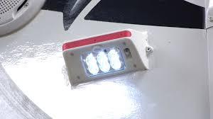 rv outside led lights led rv porch light install mountable solar powered