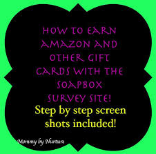 earn gift cards step by step to earn gift cards on my favorite survey website
