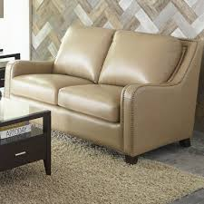 Denver Leather Sofa Darby Home Co Whitstran Leather Sofa Reviews Wayfair