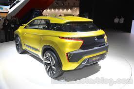 mitsubishi xm concept mitsubishi xm crossover concept honda br v rival revealed