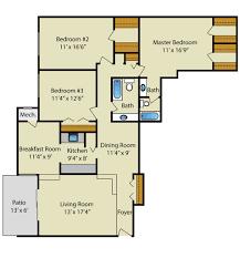 floor plan 3 bedroom 2 bath floor plans strathmore house apartments in silver spring md