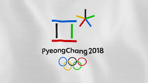 loopable pyeongchang 2018 winter olympic games flag waving in the