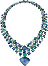 sapphire emerald necklace images Crh7000146 high jewelry necklace platinum sapphires emeralds png