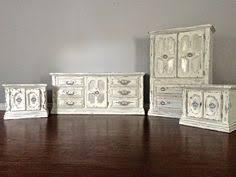 Shabby Chic Bedroom Sets by Shabby Chic Grey U0026 Gold Leaf Dresser Set 650 Sold Uproar
