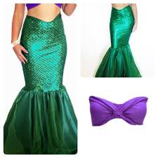 Mermaid Halloween Costume Adults Morena Mermaid Costume Mermaid Tail