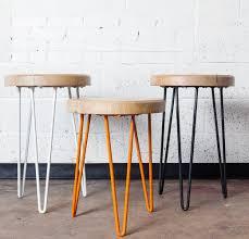 rectangular wood hairpin coffee table uncategorized hairpin leg side table englishsurvivalkit home design