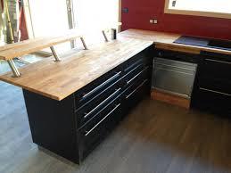 plan de travail cuisine noir plan de travail cuisine hetre 14 bois noir avec en admin systembase co