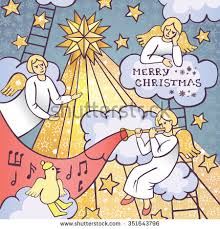 Decoration Of Christmas Star by Angel New Sits Star Stock Images Royalty Free Images U0026 Vectors