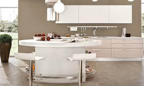cuisine lube péninsule ovale pour la cuisine lube adele