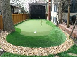 backyard putting green lighting outdoor putting green kits crafts home backyard putting green kit