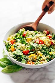 healthy colors green goddess quinoa summer salad recipe pinch of yum