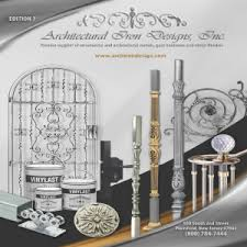 catalog ornamental iron work